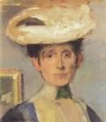 Olga Boznanska, självporträtt 1865. Foto. wikimedia.