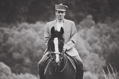 Ryttmästaren Pilecki spelas i filmen av Marcin Kwasny. Bild från Projekt Pilecki.