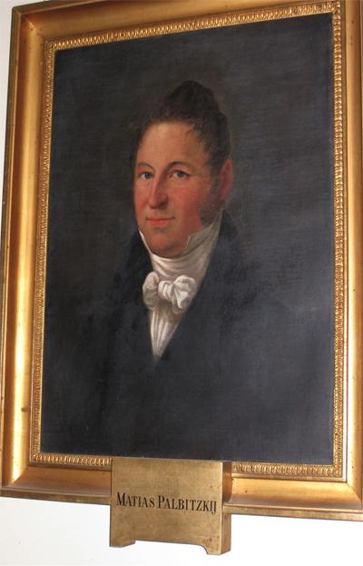 Mattias Palbitzkij – av polsk släkt.