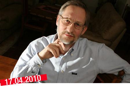 Författaren och journalisten Peter Johnsson. <br />foto: Tadeusz Pozniak