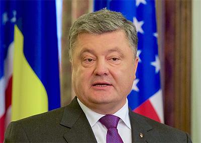 Ukrainas president Petro Porosjenko. Foto: wikipedia.