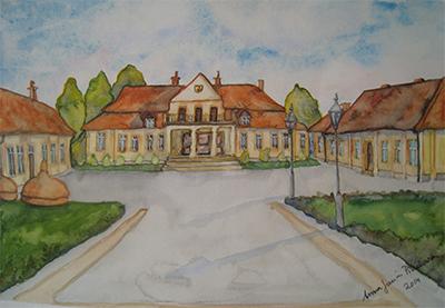 Regionmuseet i Leżajsk målning av Anna Janina Pieniowska