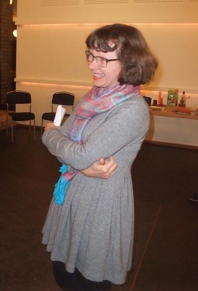 Barbara Törnquist-Plewa talade om folkförflyttningar i andra världskrigets skugga.