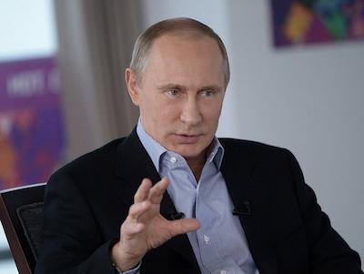 Rysslands president Vladimir Putin. Foto: flickr.