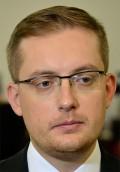 Robert Winnicki, parlamntariker för Kukiz'15 och ledare för Nationella rörelsen. Foto: Adrian Grycuk, wikipedia.