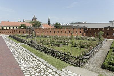 I sommar visar Wawel upp sina nya renässansträdgård. Foto: Wawel.