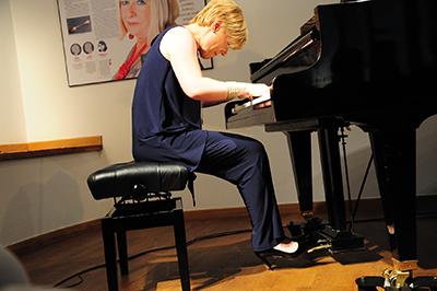 Following the Traces of Ellen Epstein heter pianisten Senka Brankovic konsert. Epstein, som var född i Wrocław dödades i Riga 1942. Foto: Stanisław Godula