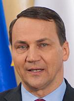 Utrikesminister Radoslaw Sikorski. Foto: Wikipedia.
