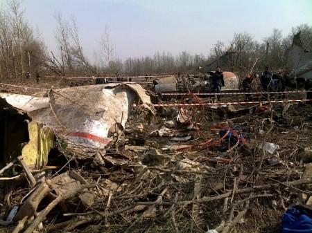 Flygplanet förstördes totalt vid kraschen. Foto: wikipedia.