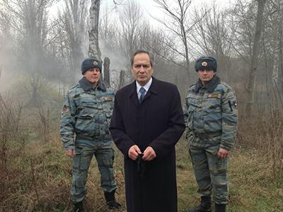 Scen ur Krauzes film om Smolenskkatastrofen. Foto: Facebook