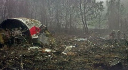 Det havererade Smolenskplanet. Bild: Wikipedia.