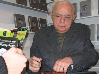 Den polska sf-författaren Stanisław Lem. Foto: mariusz Kubik, wikipedia.