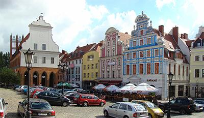 Gamla stan i Szczecin. Foto: Mateusz Wahr, wikipedia.
