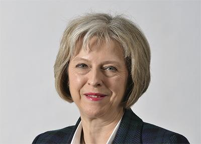 Storbritanniens nya premiärminister Theresa May besökte Warszawa. Foto: Inrikesdepartementet.