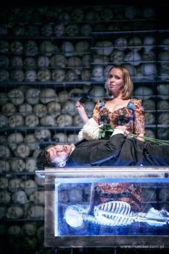 Scen ur Krakówtaterns TIll Damaskus. Foto: Stary Teatr, FB.