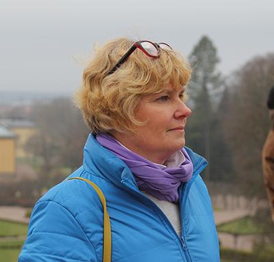 Urszula Mech från Uppsalaföreningen.
