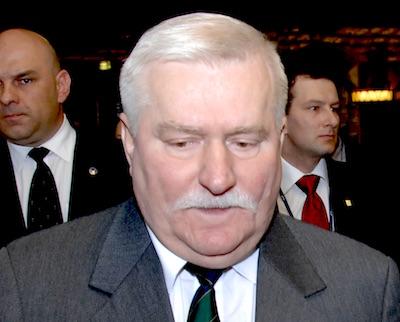 Lech Wałęsa Foto: wikipedia.