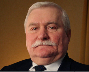 Förre Solidaritetslsedaren Lech Wałęsa. Foto Scorpio Studio.