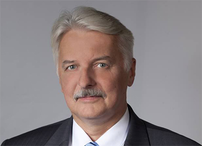 Utirkesminister Witold Waszczykowski. Foto: Utrikesdepartementet.