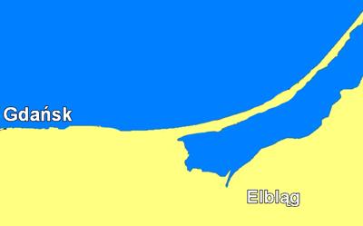 En ny kanal kan öppna upp Wisla-lagunen mot Östersjön.