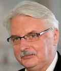 Utrikesminister Witold Waszczykowski. Bild wikipedia.