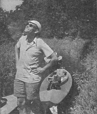 Karol Wojtyła uppskattade livet ute i det fria – här på kanottur.