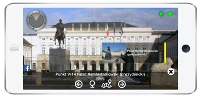 Appen Arguido berättar allt om Warszawa för turister.