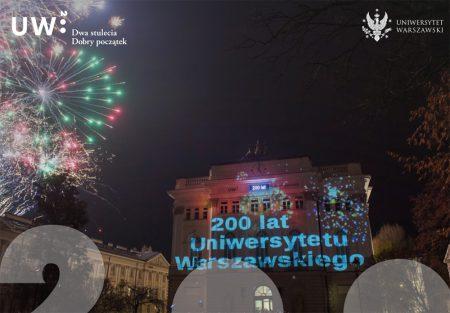 Warszawas universitet har fyllt 200 år. Foto: Universitetets hemsida.