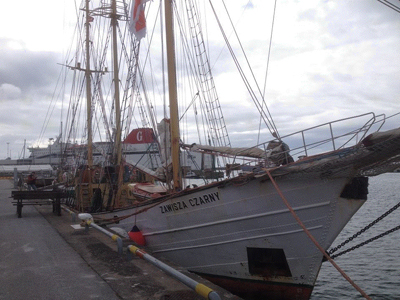 Det legendariska polska scoutfartyget Zawisza Czarny.