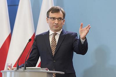 Justitieminister och riksåklagare Zbigniew Ziobro. Foto: P Traacz, regeringskansliet.
