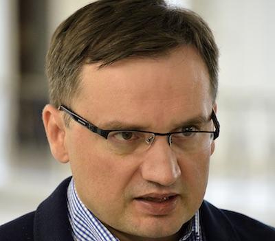 Justitieminister Zbigniew Ziobro. Foto: Adrian Grycuk, wikipedia.