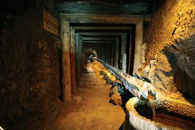 Entrén till saltgruvan. Foto: kopalnia.pl