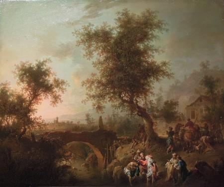 Johann Conrad Seekatz målning har återlämnats till Polen.